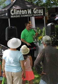 Clinton W. Gray's Magic Booth